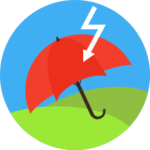 Umbrella, lightning-strike: force majeure